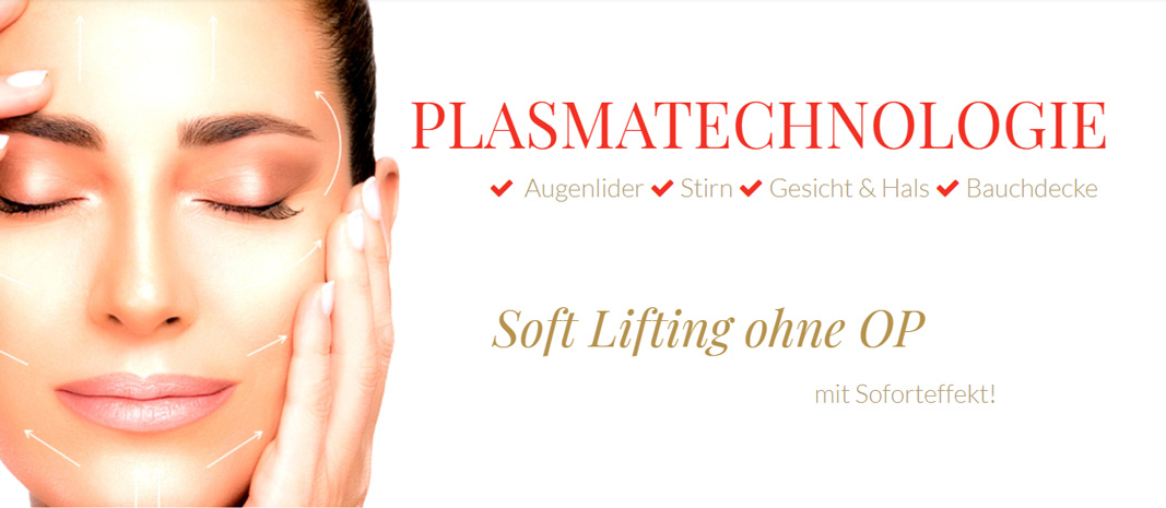 Soft Lifting mit Plasma Pen