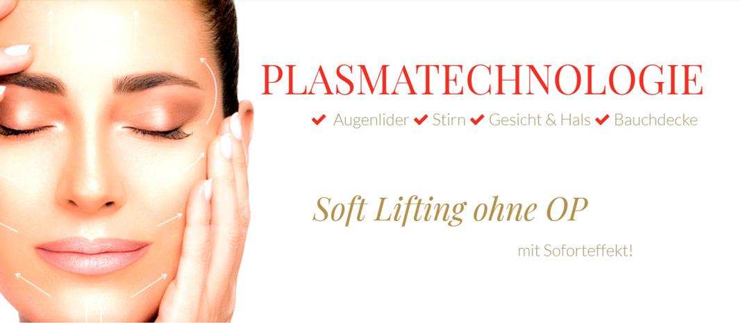 Soft Lifting mit Plasma Pen