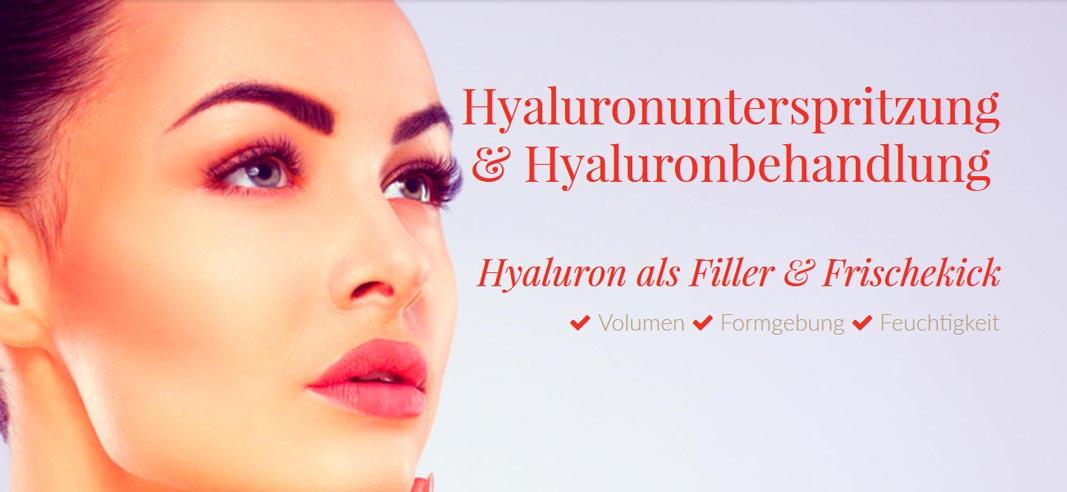Hyaluronsäure für die Faltenunterspritzung